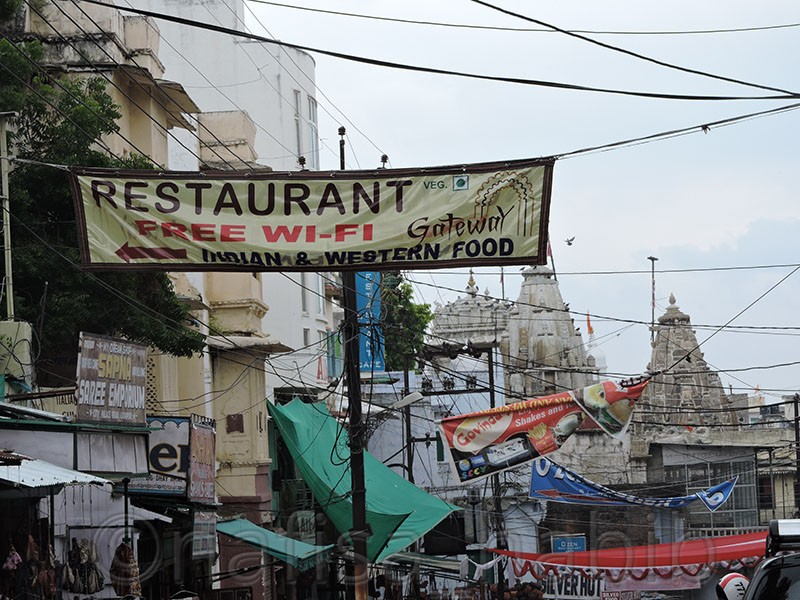 Restaurants on City Palace Road