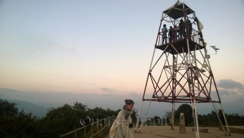 Nagarkot Tower in Nepal