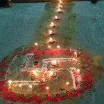 Tihar Celebration in Pokhara Nepal