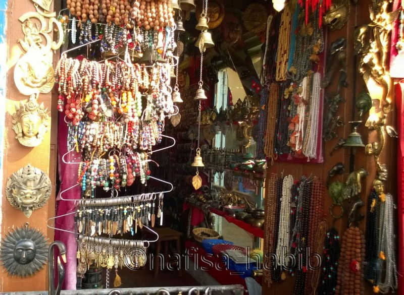 Antiques to sell at Swayambhunath