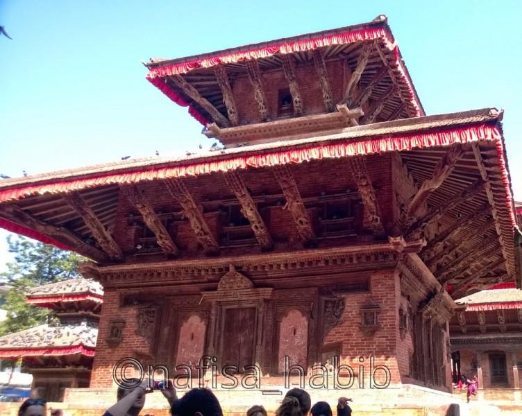 Artistic Kasthamandap Temple
