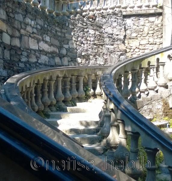 Artistic Stairways at Gupteshwor Mahadev Cave, Pokhara
