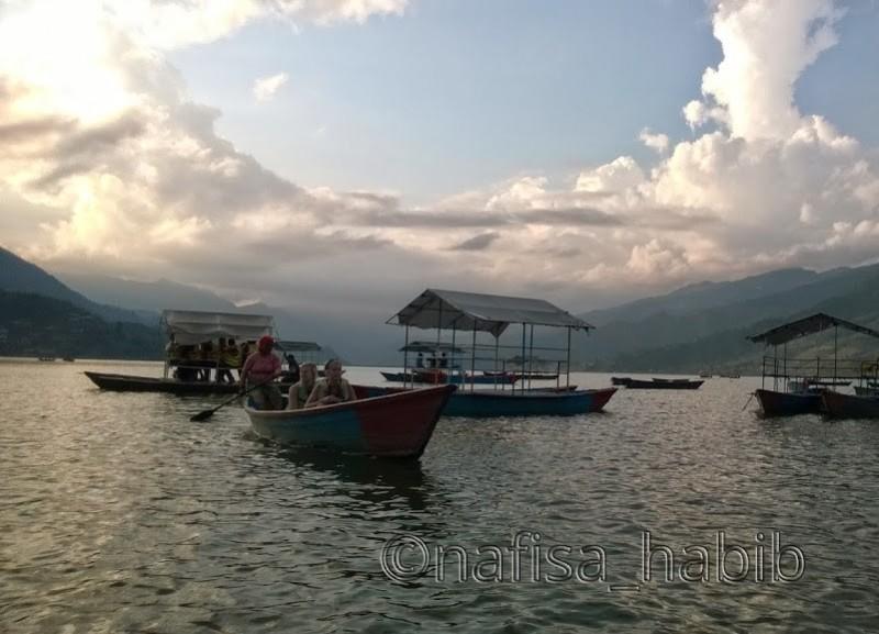 Before Sunset Fewa Lake