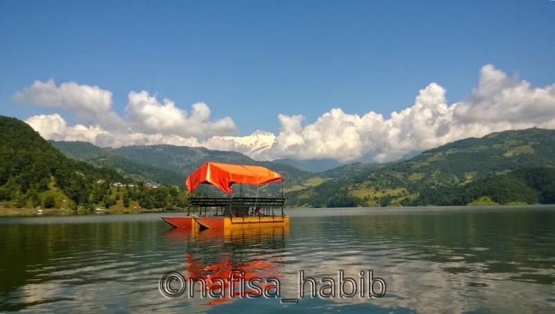 Begnas Lake in Pokhara