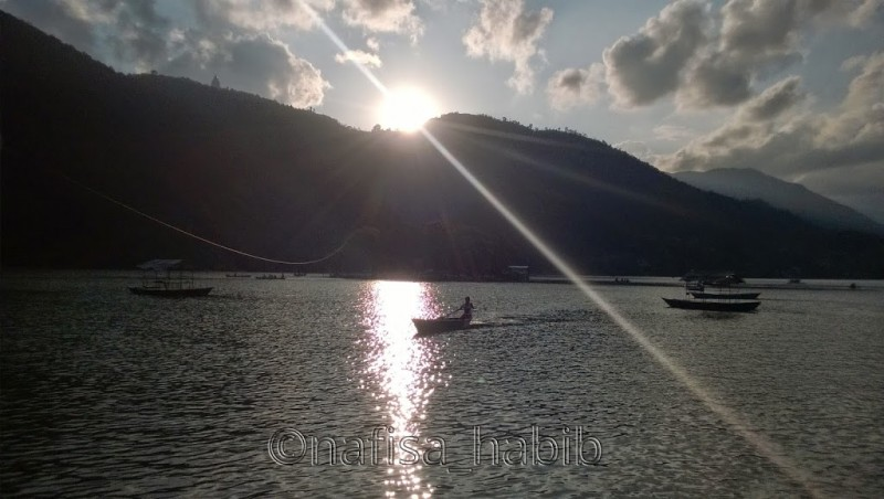 Pokhara Travel Attractions - Boating on Fewa Lake
