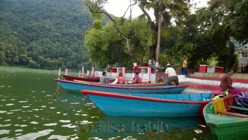 Colorful Boats, Fewa Lake