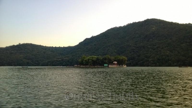 Fewa Lake Island
