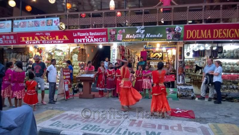 Pokhara Roadside Tihar Celebration