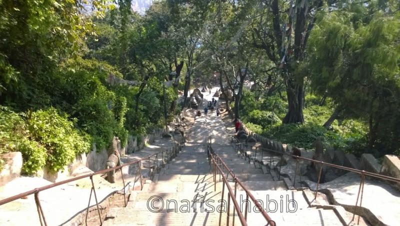 Stairways at Swayambhunath