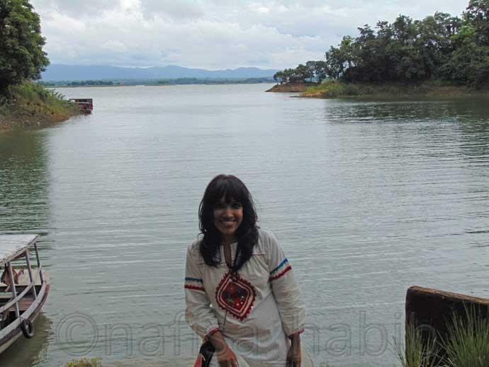 Kaptai Lake in Kaptai