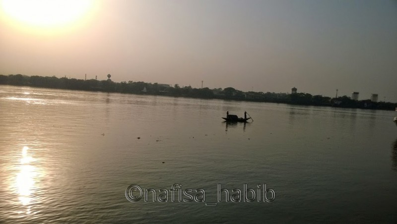Boating on the Hooghly River