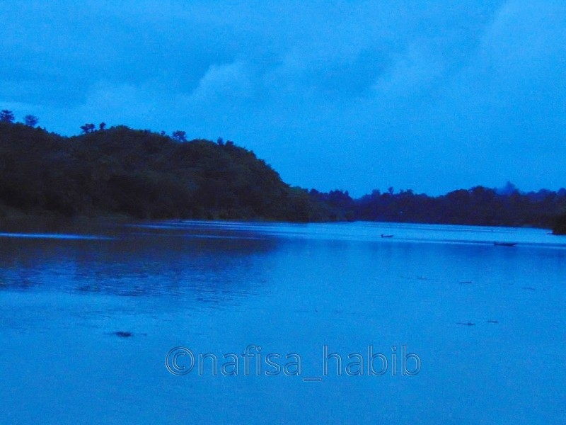 Evening Beauty of the Karnaphuli River