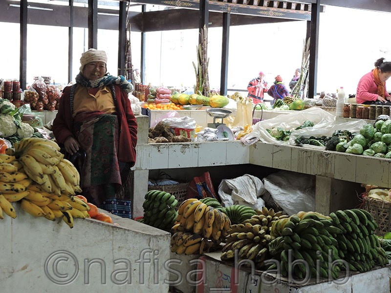 Centenary Farmers Market Thimphu