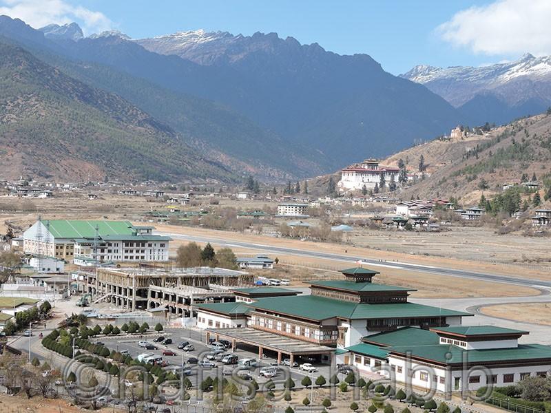 Top Reasons To Visit Bhutan - Paro Airport View