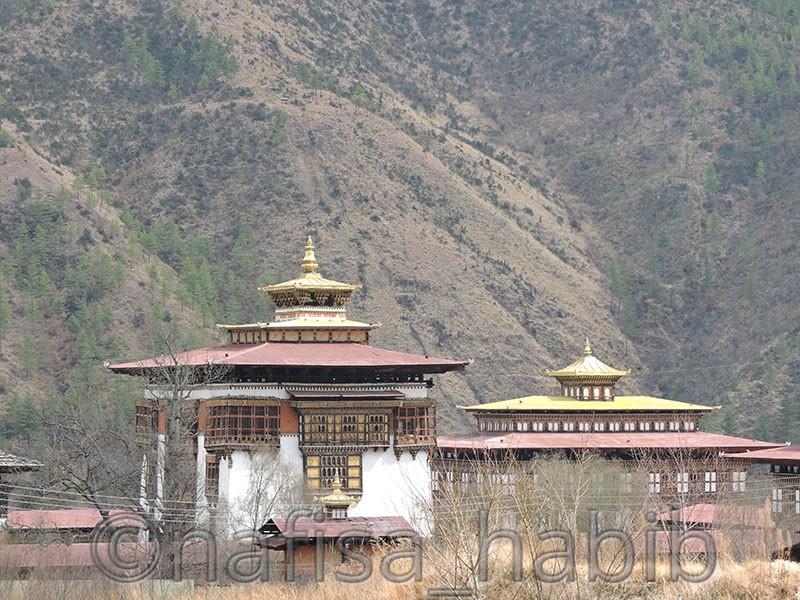 Traditional Monasteries in Bhutan - Tashichho Dzong