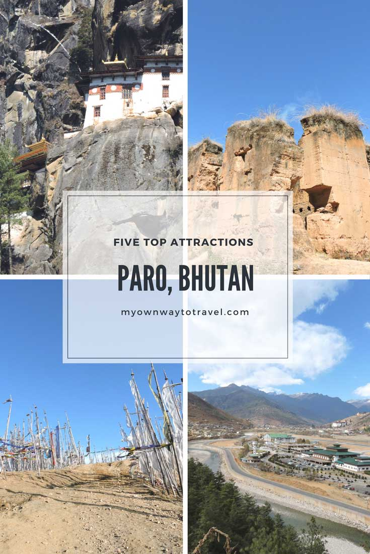 Five Top Attractions in Paro, Bhutan