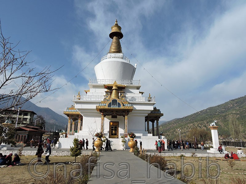 Places to Visit in Thimphu - National Memorial Chorten