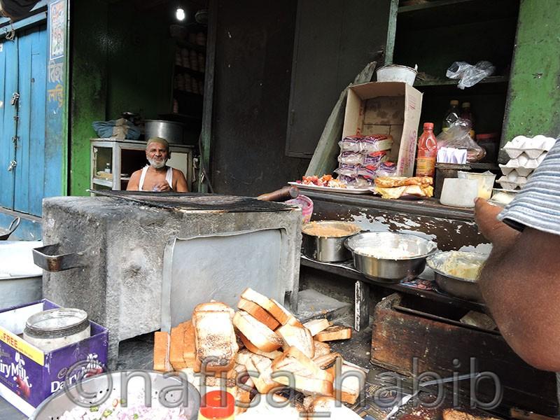 Street Food [Breakfast] at Marquis Street