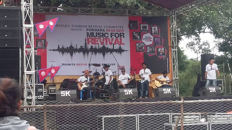 Music For Revival in Pokhara