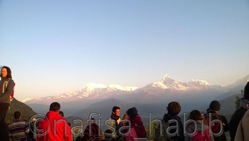 Sarangkot Annapurna Mountain Sunrise View