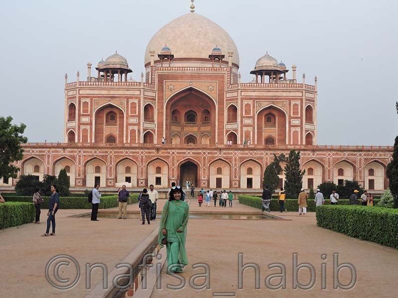 Humayuns Tomb - My 10 Days Historic Solo Trip in India [When Travelling Is More Than Fun]