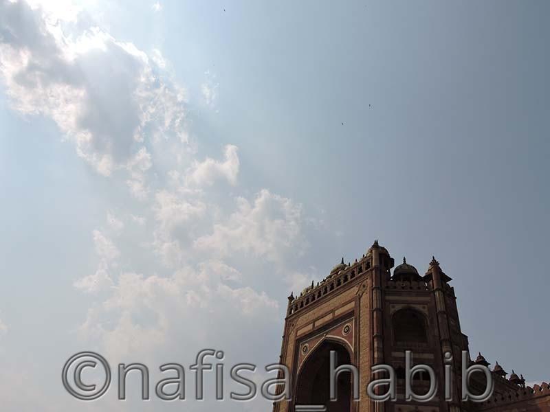 Buland Darwaza in Fatehpur Sikri, Uttar Pradesh
