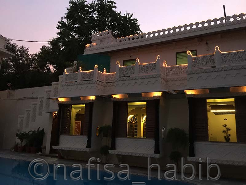 hotel mahendra prakash restaurant - My 10 Days Historic Solo Trip in India [When Travelling Is More Than Fun]