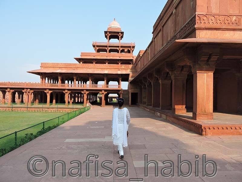 panch mahal fatehpur sikri - 7 Must-Visit World Heritage Sites in India [Cultural Heritage Sites]