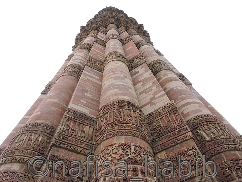qutub minar - 7 Must-Visit World Heritage Sites in India [Cultural Heritage Sites]