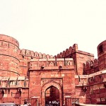 Agra Fort: Another Finest Mughal Architecture in Agra