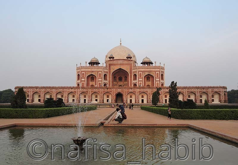 Cultural World Heritage Site (Humayun's Tomb)