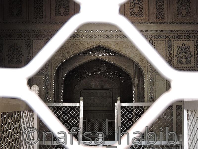 Sheesh Mahal of Agra Fort
