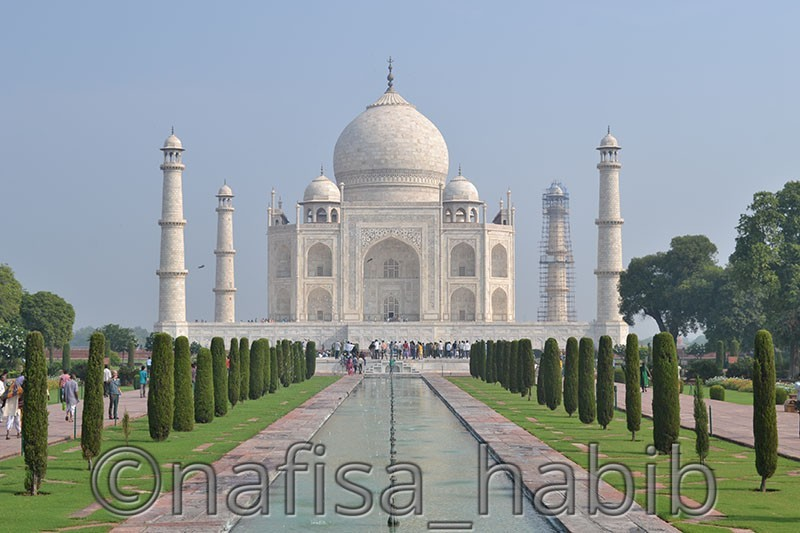 UNESCO World Heritage Sites in India - Taj Mahal in Agra Wonder of the World