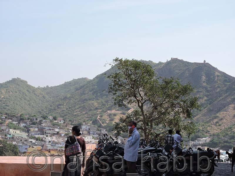 Aravali Hill at Amber Fort