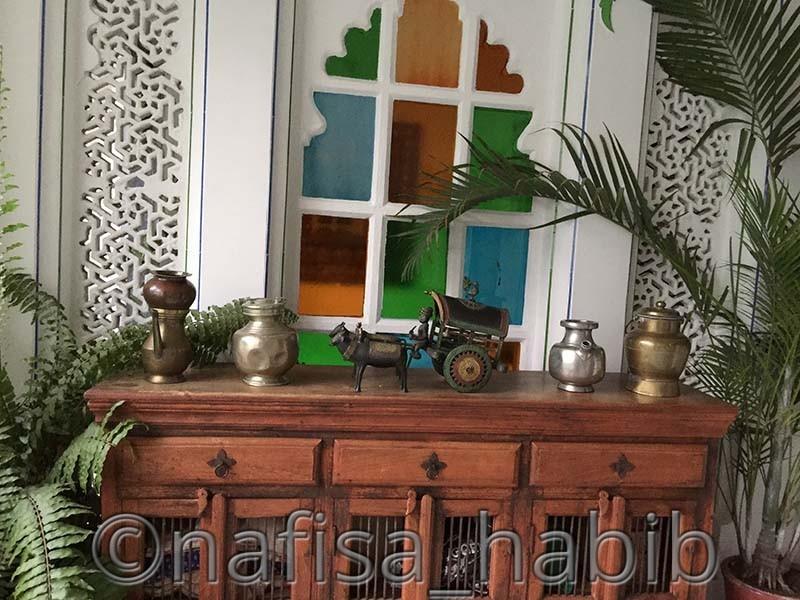 Artistic Decoration at Hotel Mahendra Prakash