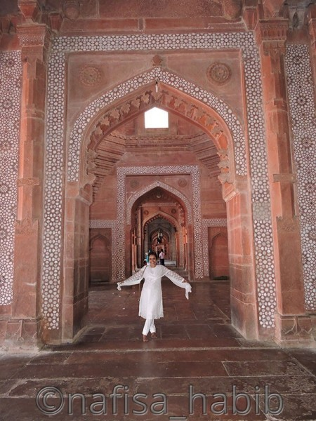 The Beauty of Mughal Architecture in Fatehpur Sikri, Uttar Pradesh