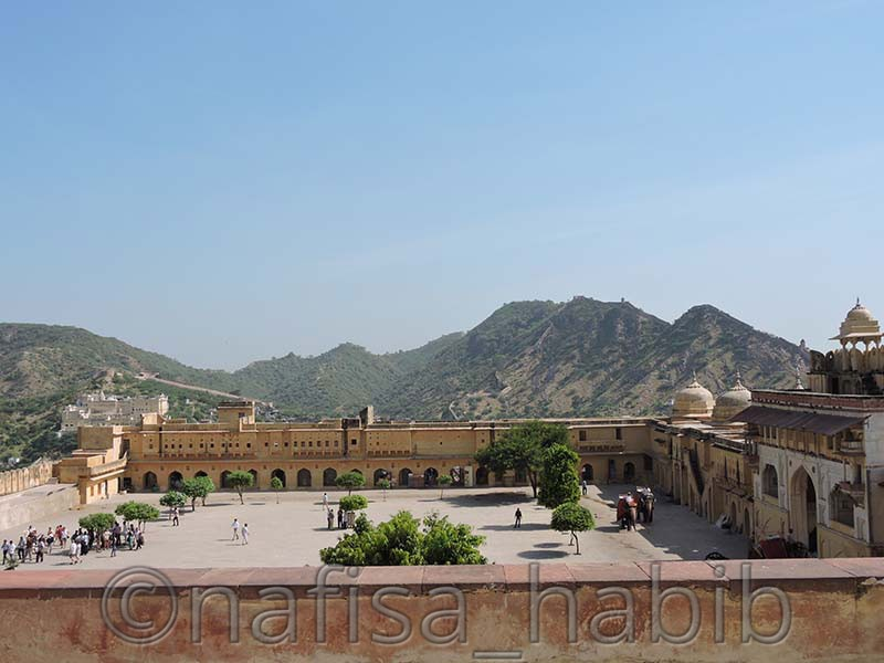 jaleb chowk main courtyard - Amber Fort: Main Tourist Attraction in Jaipur, Rajasthan