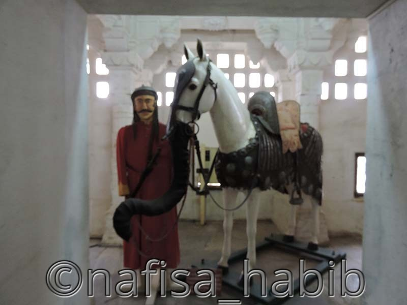 Maharana Pratap with Chetak