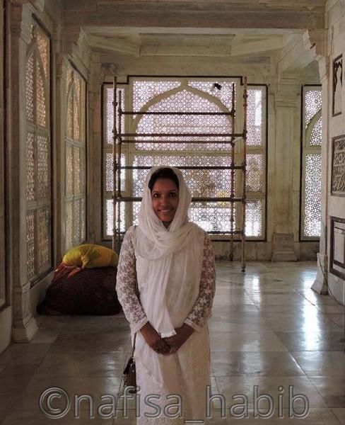 Marble Jalis in windows, Dargah of Shaikh Salim Chishti in Fatehpur Sikri
