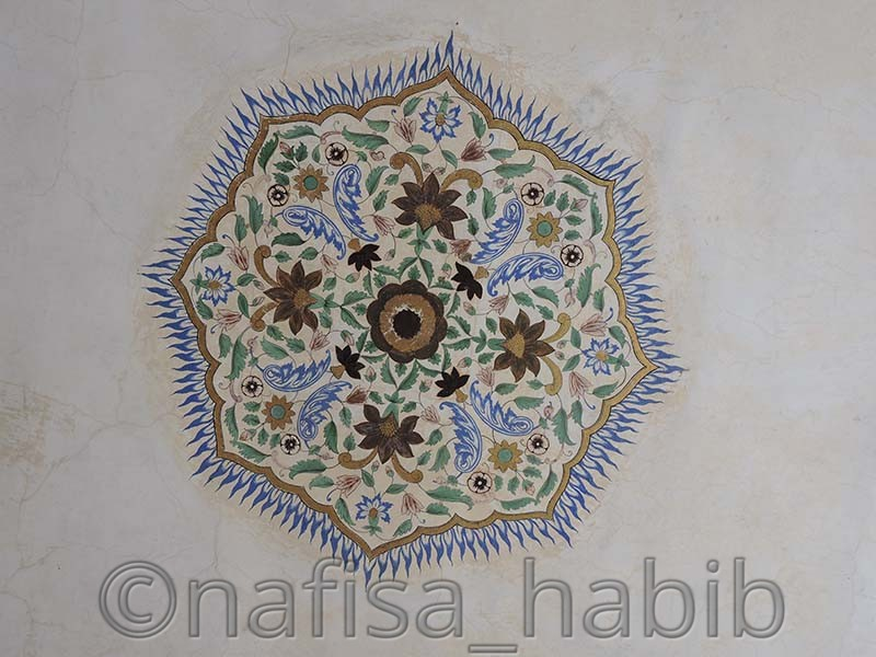 Amber Fort (Painting on Wall)