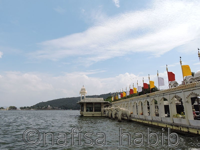 Jag Mandir view from the palace rooftop  - Udaipur Tours [A Quick Travel Guide]