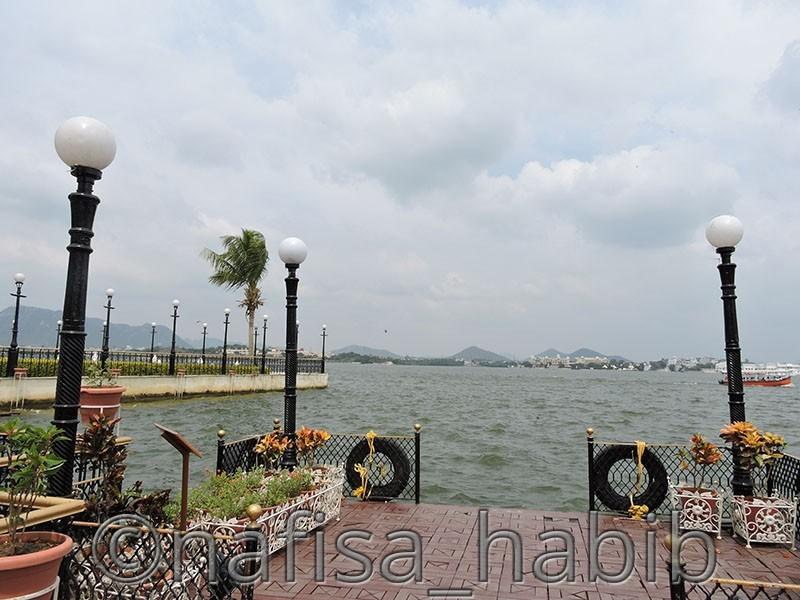 Lake Pichola from Jag Mandir Ghat