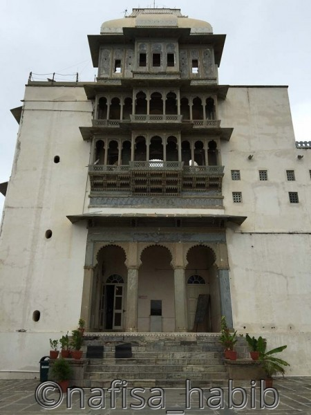 Monsoon Palace in Sajjan Garh is also known as Sajjan Garh Palace