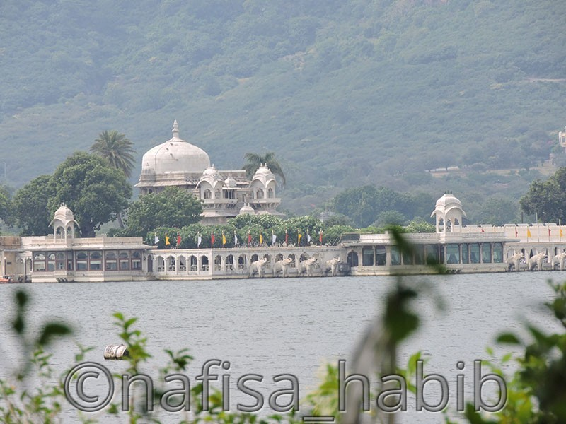 remote view of jag mandir - Top 4 Romantic Tourist Attractions in Udaipur, India