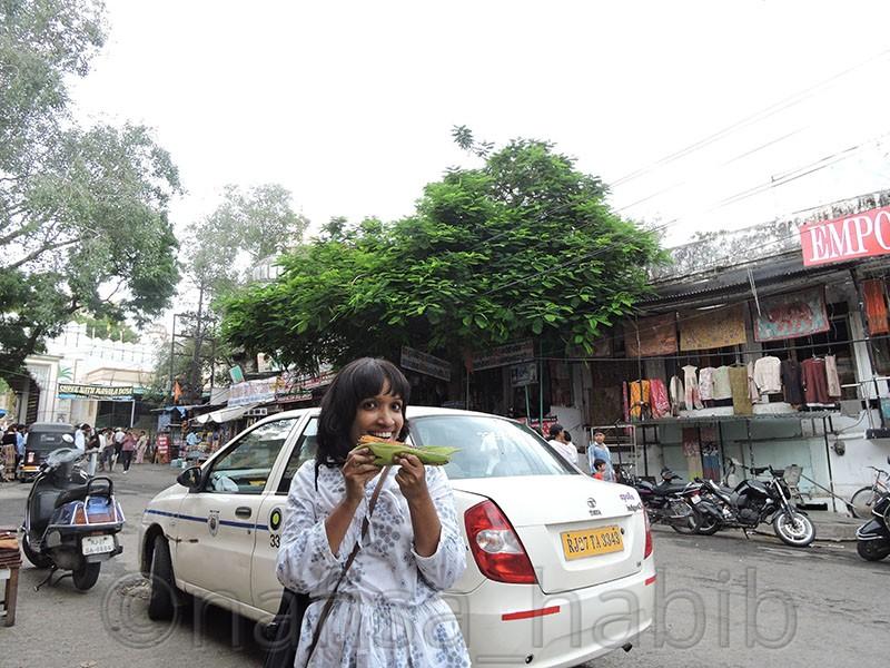City Palace Road Udaipur