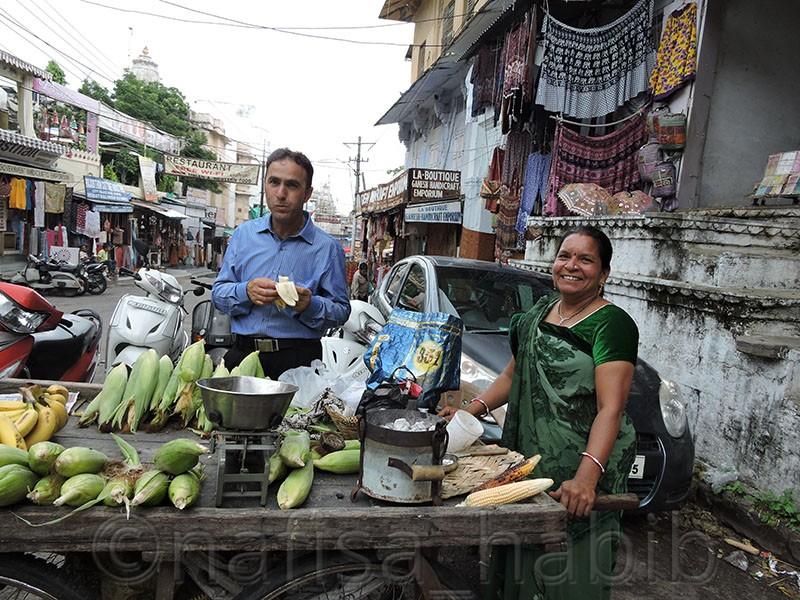 Locals in Udaipur