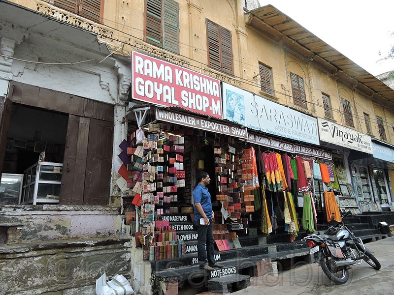 Shopping on City Palace Road
