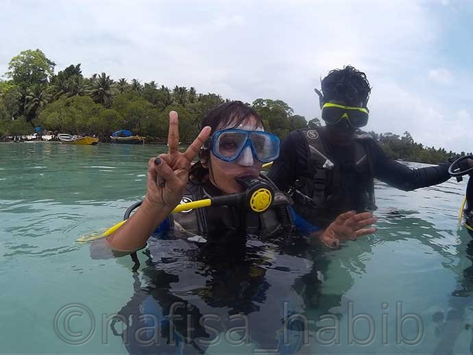 Scuba Diving in Havelock Island