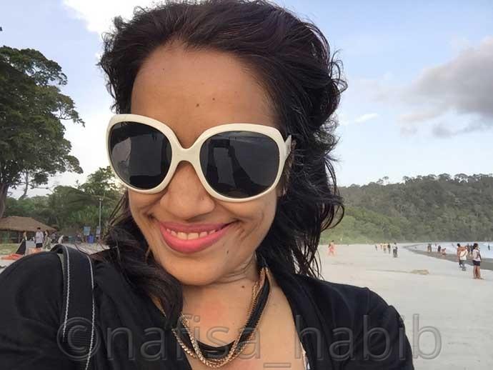 Selfie Time at Radhanagar Beach