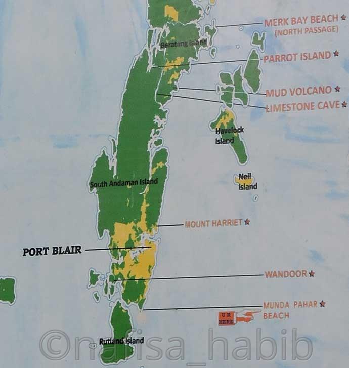 Andaman Nicobar Islands On Map